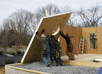 Sips bridlewood builders for Murus sip